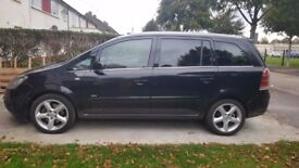 VAUXHALL ZAFIRA - BLACK 2007 - GREAT CONDITION