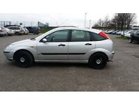 Ford focus 2003 petrol 1.6 manual