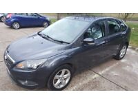Ford focus zetec facelift 1.6 td tax £30 per year New Mot