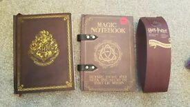 Harry Potter notebooks