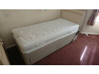 Single Bed Divan Fully Adjustable **sold **
