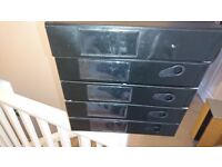 5x A4 Office Box Files