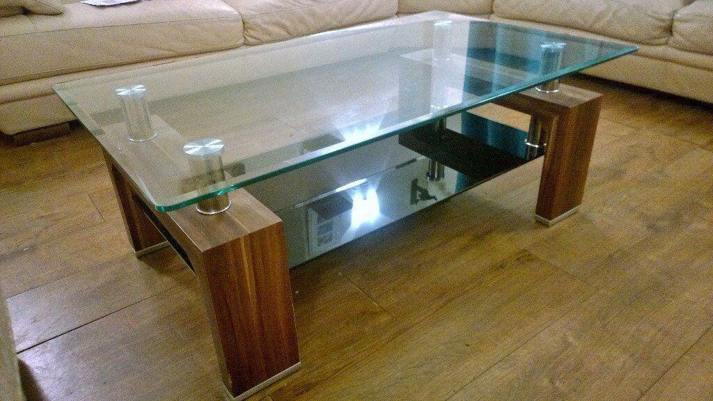 Glass Coffee Table PART EX WELCOME From Harrods £749.. FREE DELIVERY. COLLECTION STALHAM OR WROXHAM