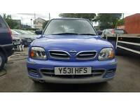 Nissan Micra S 1 Liter Blue 5 Door Power Stearing