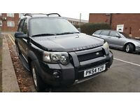 Left hand drive Freelander in London