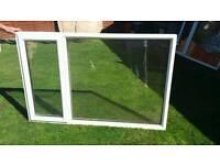 Window 2x left hand opener double glazed windows