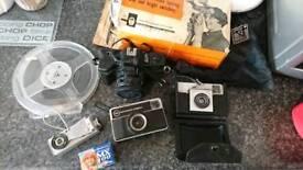 Vintage camera bundle