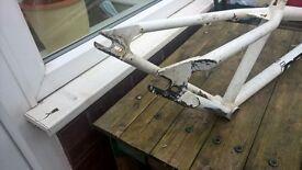 identiti p60 dirt jump bike frame