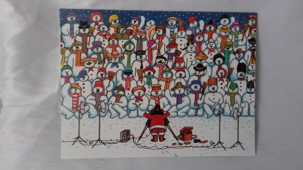 "119 8"" x 6""Charity Christmas Cards"