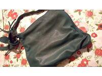 Womens F&F green bag