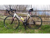 Carrera Virago Carbon Fibre Road Bike - Size M/L