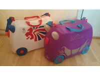 2 x Trunki Luggage Suitcase for sale £15 Each - Good Condition - Collection from Slough