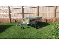 Erde 122 Trailer and cover for sale