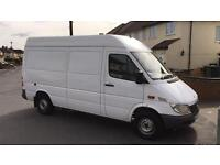 Mercedes sprinter 311 cdi mwb high top only 1 previous owner low miles!!!!!! NO VAT