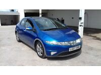 HONDA CIVIC WITH PANORAMIC ROOF CLEAN CAR FULL HISTORY ONE OWNER