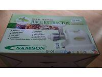 SAMSON 6 IN 1 JUICER GB-9001 CREAM