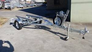 4.3mt Boat Trailer with Carpeted Skids Glenorchy Glenorchy Area Preview