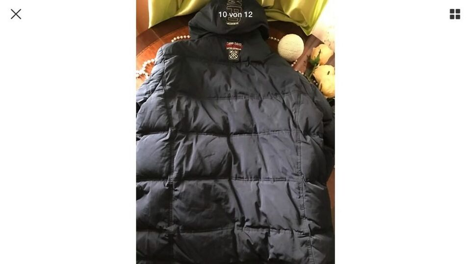 CAMP DAVID Blue Winter Jacke Gr.2XL Heritage Brand