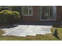 Are you looking for someone to erect a fence shed etc We also do landscaping block paving slabbing