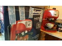 Delonghi coffee machine new