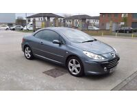 PEUGEOT 307 HDI DIESEL SPORT CONVERTIBLE FULL LEATHER £1995
