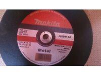 6 Makita metal saw blades