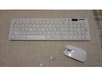 Wireless keyboard+mice
