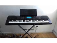 CASIO WK-1300 Keyboard & Stand