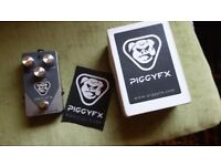 Piggy FX Oinkomp Compressor hand-wired boxed mint COST £170 new