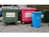 Refuse bins for free