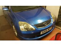2005 05 BLUE Honda Civic EP2 1.6 Sport BREAKING PARTS SPARES
