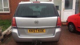 Vauxhall Zafira 7 seater CDTi Elite 5dr , 62754 miles, Diesel,Good Runner, 12 months MOT
