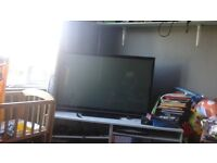 Broken tv for spares or repairs (need gone or just gonna put it in garden)