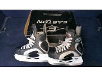 Hi for sale Easton ice skates in very good condition!