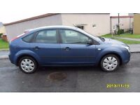 2005 FORD FOCUS 1.6 LX, PRIVATE NUMBER PLATE