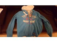 Womens sz 10 hooded, woolly Jacket