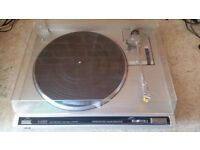 JVC L A 100 Record Player Turntable
