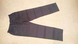 Black Scrub Pants, size 14