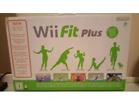 Nintendo Wii Fit Plus Balance Board, Game and Instructions, Boxed - In Excellent Condition
