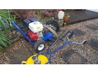 Honda GX390 pressure washer 250bar 13hp industrial powerful with whirlaway driveway patio cleaning