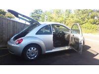 Silver VW Beetle 20062ltreTDI MOT'd till13th Aug2018 88k miles 1 previous owner