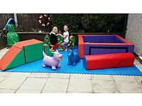 Soft Play Ball Pool Soft Shapes Rocker Soft play Package