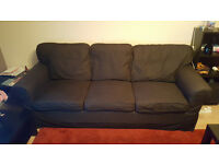 Ektorp Sofa 3 seater and 2 seater in grey colour