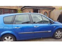 Automatic Renualt scenic 7 seater good runner open to offers