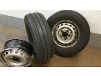 Mercedes Sprinter Van Wheels and Tyres 225/70/15