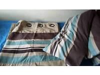 Curtains &matching cushions