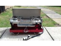 Camping/Garden gas cooker and grill