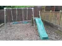 Dunster House Swings / Slide / Climbing frame