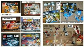 LEGO STAR WARS (more pics and sets in ad) *