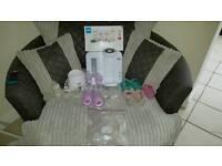 Baby bottles & prep machine & warmer